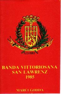 1985 Cassette Cover