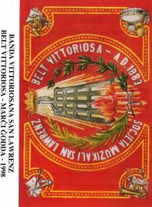 1998 Cassette Cover