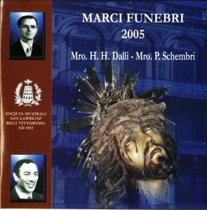Front Cover Marci Funebri 2005